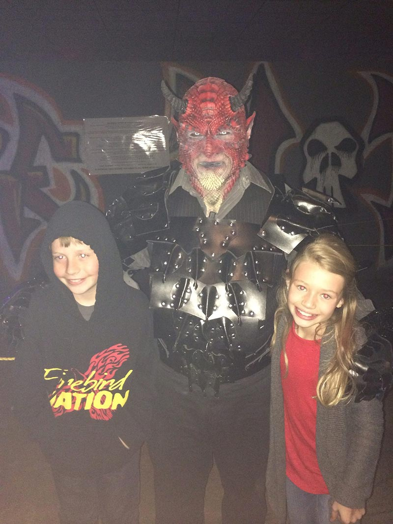 Ghouls Gulch is an amazing haunted house
